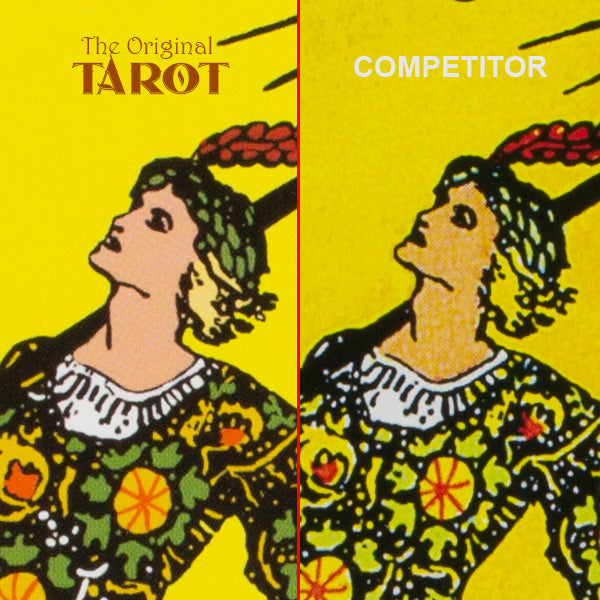 original tarot face color