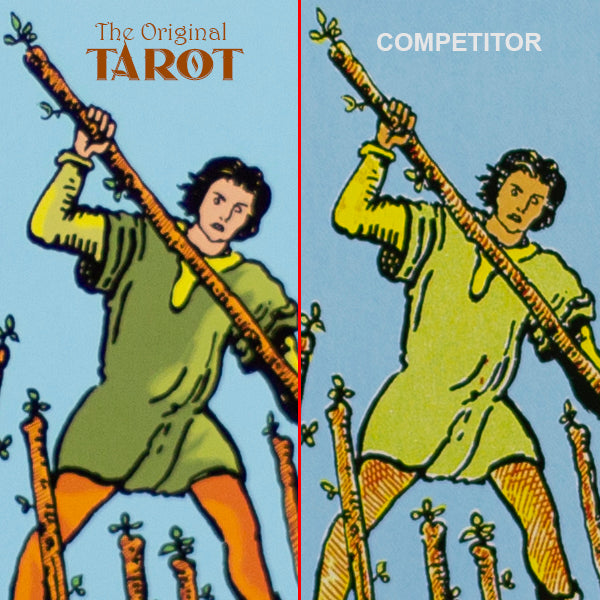 original tarot improved colors