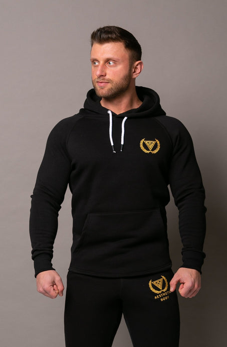 Classic Hoodie Black/Gold