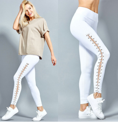 Stretchy Ripped Leggings