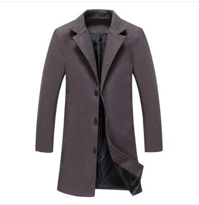 Casual Business Woolen Coats