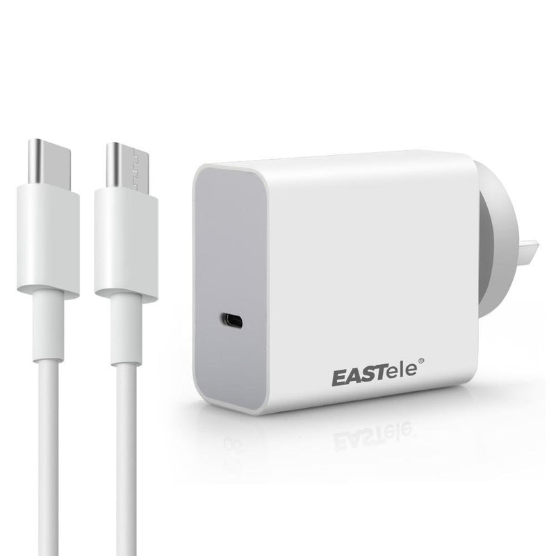 Fast Charging USB-C Type-C Wall Charger Adapter w/ PD Cable