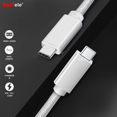 Type-C Male to Male Data Cable