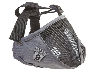 RC Pets Short Snout Muzzle Charcoal