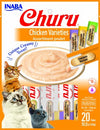 Inaba Churu - Purées Variety Pack - Chicken Recipes