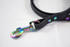Dog Dog Goose Biothane Leash w/Gas Rainbow Hardware