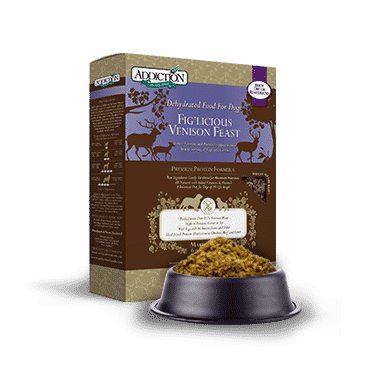 Addiction Raw Dehydrated Dog Food