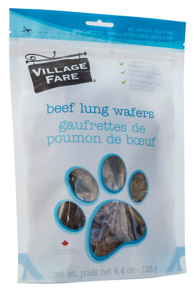 Beef Lung Wafers 125g
