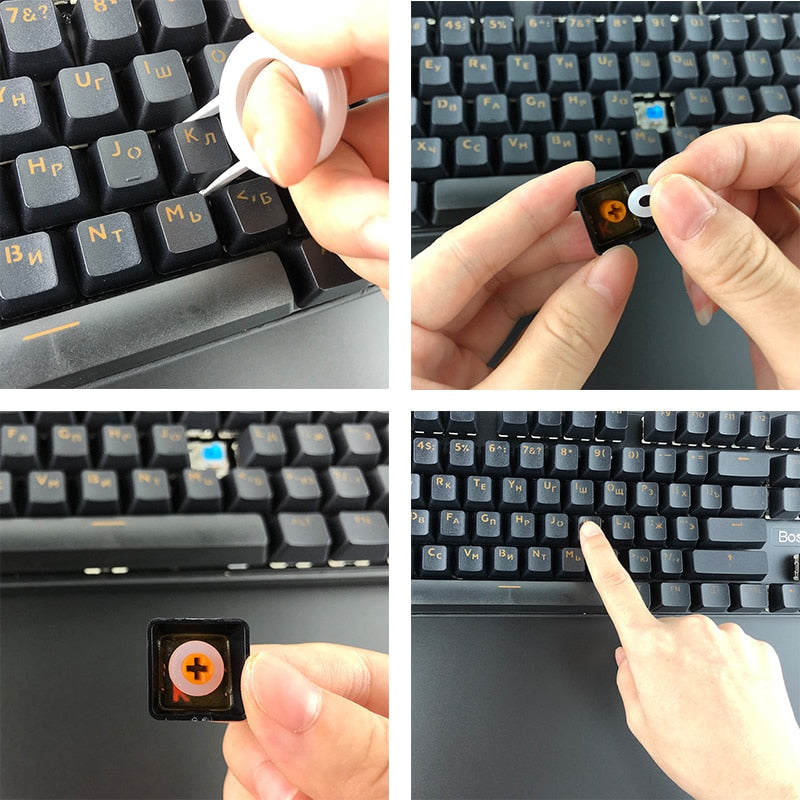Keycaps O Ring Seal Sound Dampeners for Mechanical Keyboard MX Switch – Boltrage