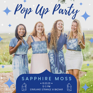 Moss & Marsh Announces Sapphire Moss Sub-brand and Launch Event on October 3