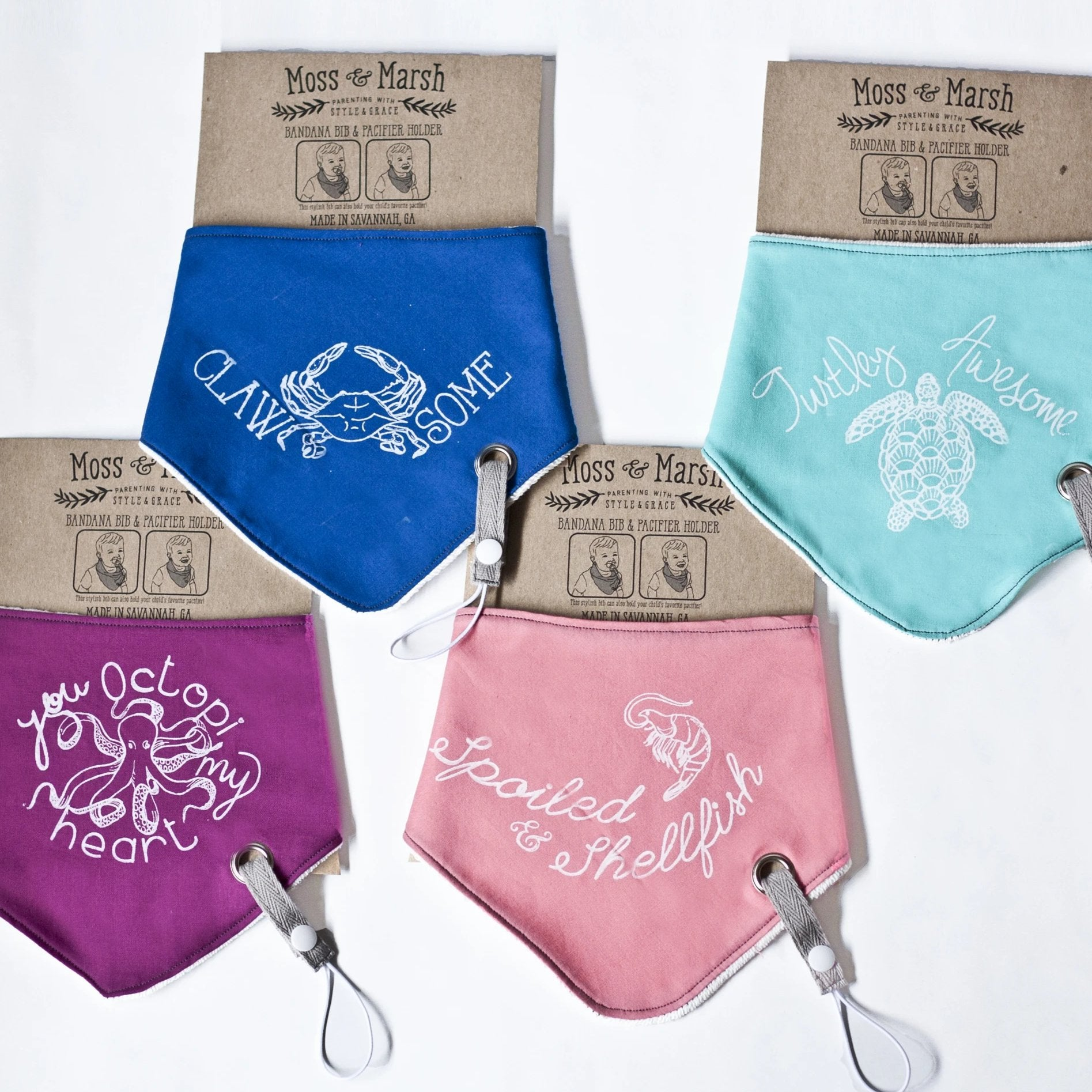 LOVE NOTES! Bandana Bib