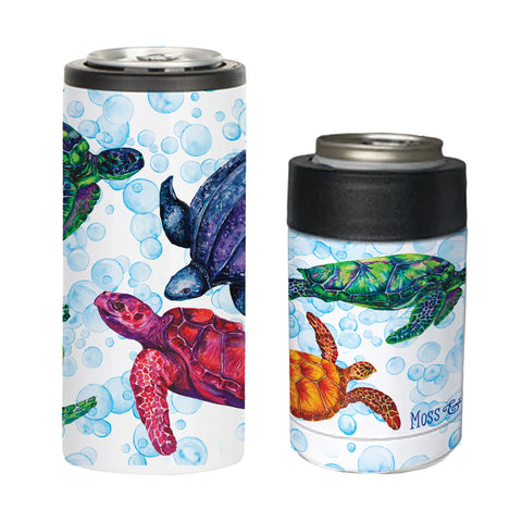 Sea Turtle Can Coolers