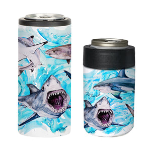 Shark Can Coolers