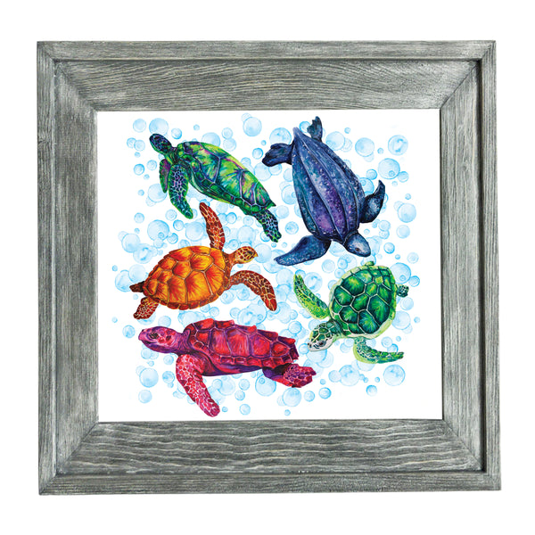 Sea Turtles Painting Prints