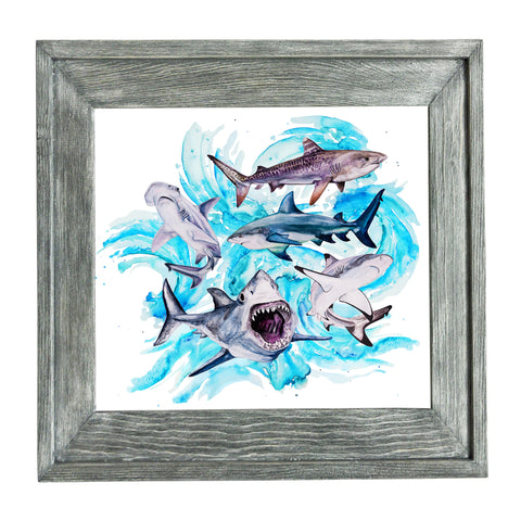 Shark Painting Prints