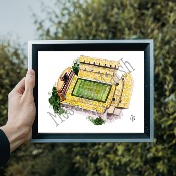 GA Tech Watercolor Painting Prints