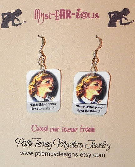 Nancy Drew Blackwood Hall Earrings