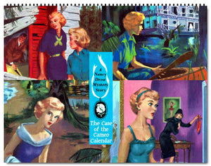 2021 Nancy Drew Cameo Edition Covers Calendar