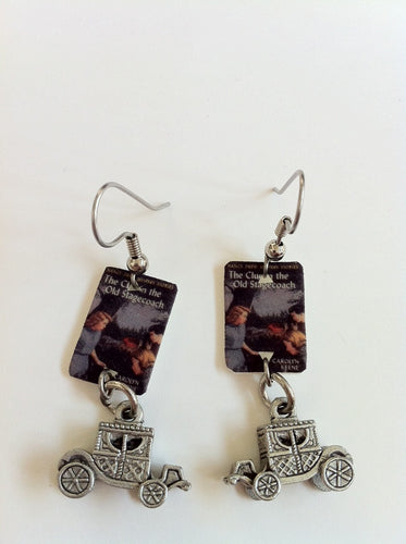 Nancy Drew Old Stagecoach Earrings