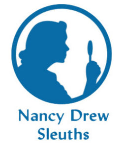 Nancy Drew Sleuths Silhouette Decal