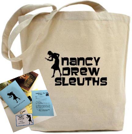 Nancy Drew Sleuths Fan Club Lifetime Membership Kit - USA Addresses only