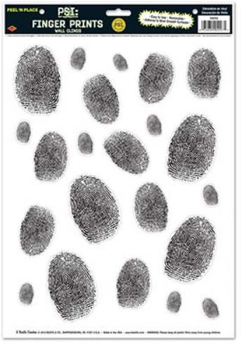 Nancy Drew Mystery Party Fingerprints