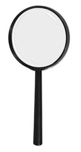 Nancy Drew Party Scene Magnifying Glass