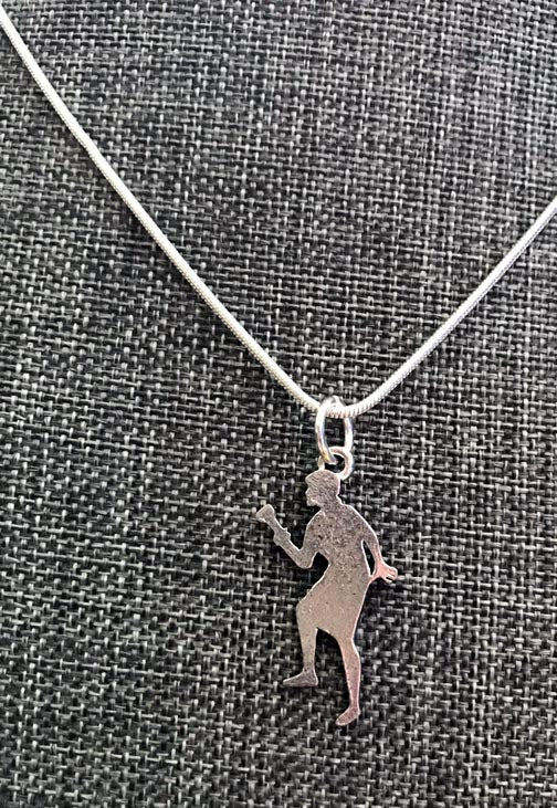 Nancy Drew Silver Silhouette w/ Flashlight