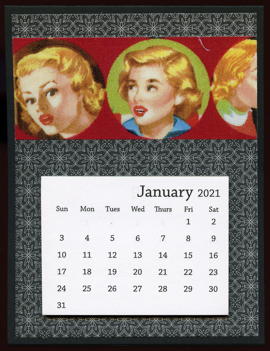 Nancy Drew Desk Calendar