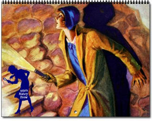 2021 Nancy Drew 1930s Book Cover Images Calendar