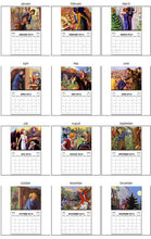 Load image into Gallery viewer, 2021 Nancy Drew 1930s Book Cover Images Calendar
