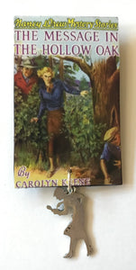 Nancy Drew Book Cover Hollow Oak  Pin or Ornament