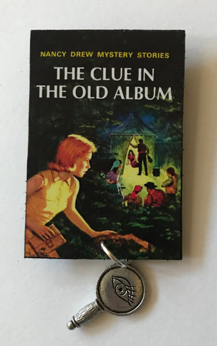 Nancy Drew Book Cover Old Album  Pin or Ornament