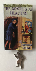 Nancy Drew Book Cover Lilac Inn Pin or Ornament