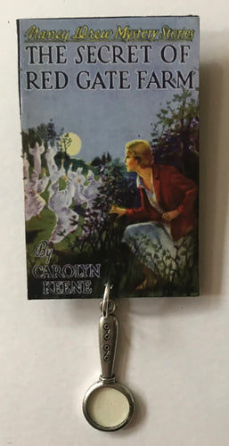 Nancy Drew Book Cover Red Gate Farm Pin or Ornament
