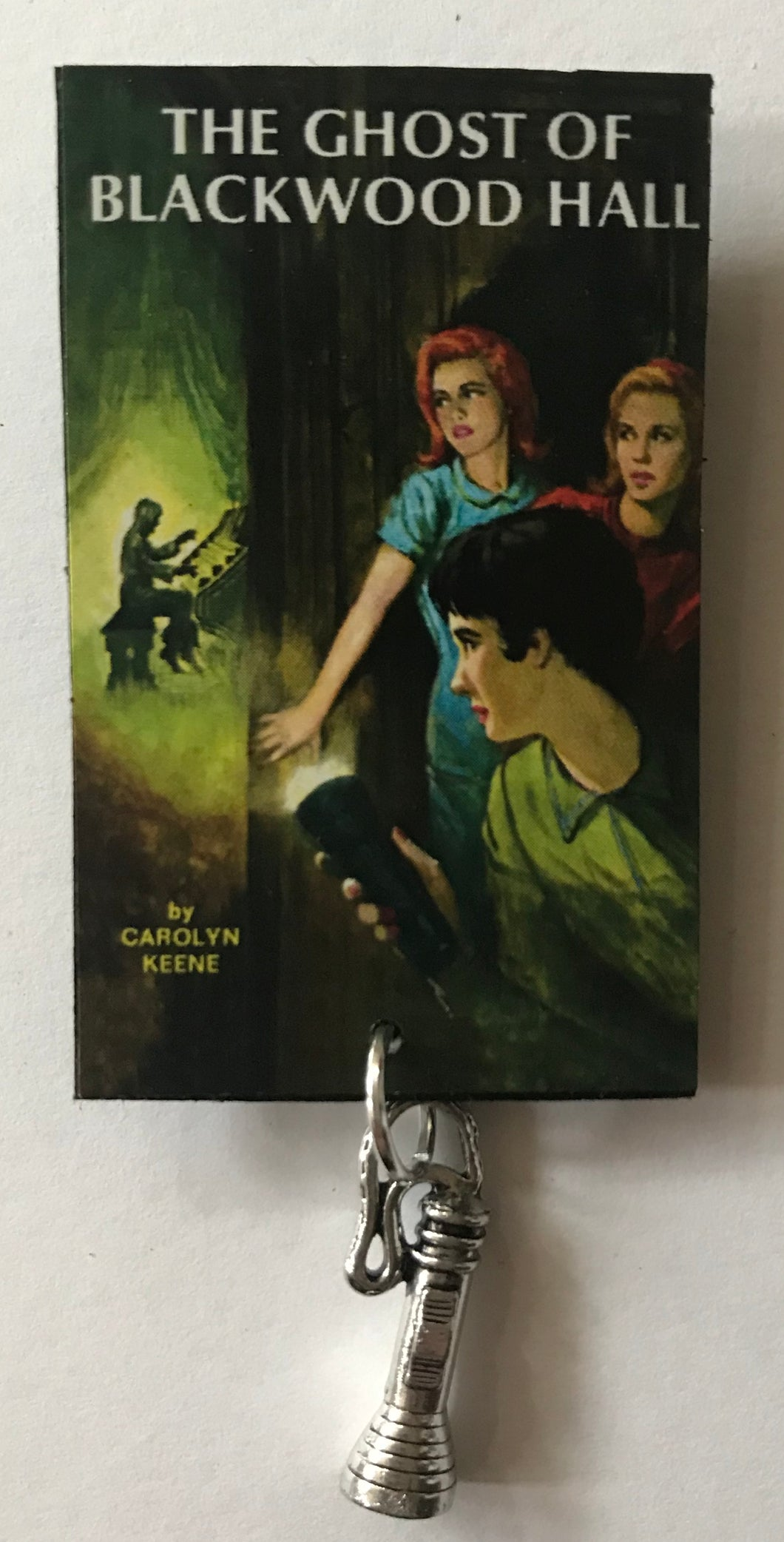 Nancy Drew Book Cover Blackwood Hall Pin or Ornament