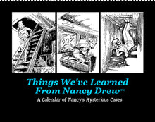 Load image into Gallery viewer, 2021 Things I Learned From Nancy Drew Calendar