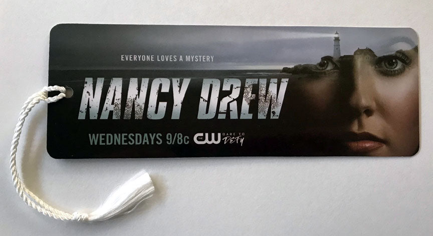 Nancy Drew CW TV Show Promo Bookmark