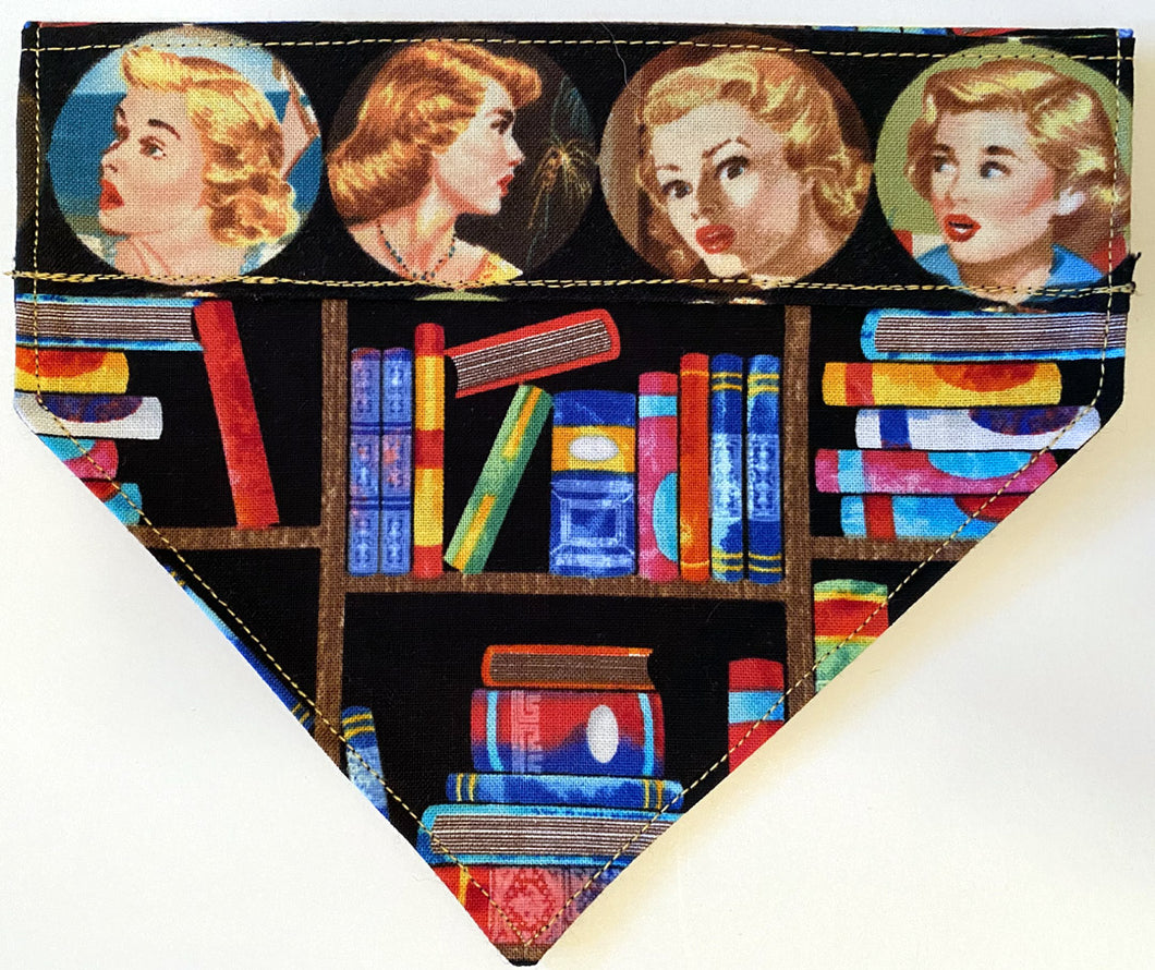 Nancy Drew Fabric Pet Bandana