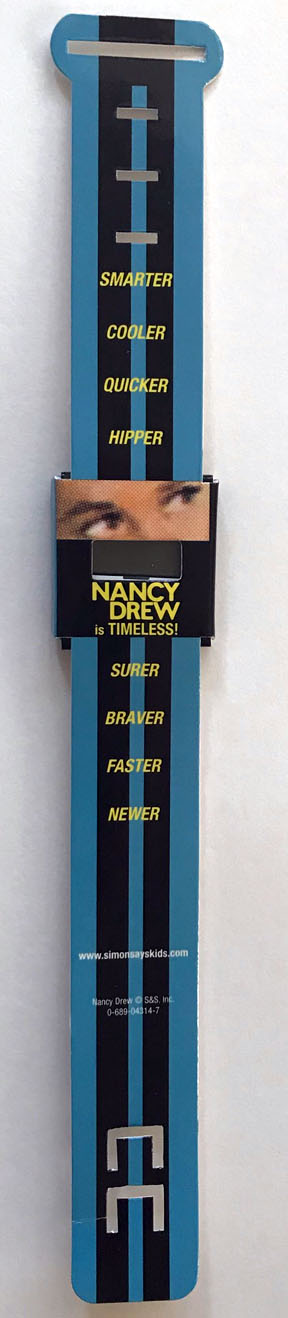Nancy Drew Girl Detective Promo Paper Watch