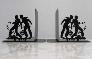 Hardy Boys Silhouette Bookends
