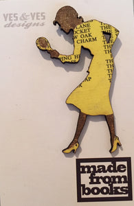 Limited Editon Nancy Drew Book Pin