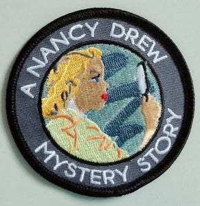 A Nancy Drew Mystery Story Patch