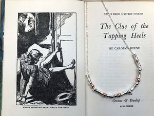 "Nancy Drew ""Nancy"" Morse Code Necklace"