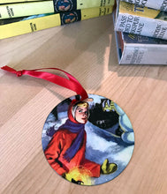 Load image into Gallery viewer, Nancy Drew 90th Anniversary Mystery at the Ski Jump Ornament