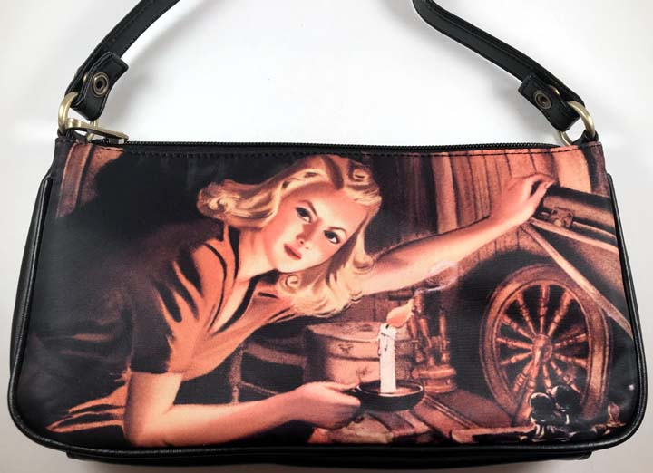 Nancy Drew Old Attic Clutch Bag