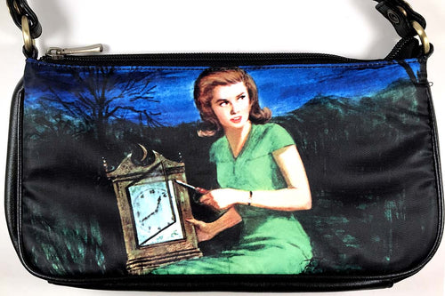 Nancy Drew Nappi Old Clock Clutch Bag