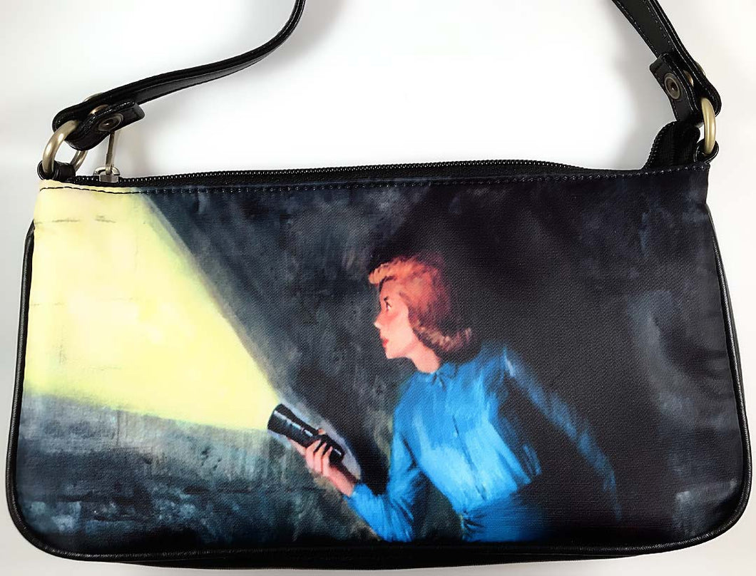 Nancy Drew Nappi Hidden Staircase Clutch Bag