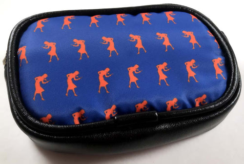Nancy Drew Orange Silhouette Coin Purse