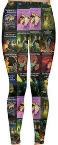 Nancy Drew Vintage Nappi Book Cover Leggings
